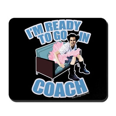 Ace Ventura Ready to Go In Coach Mousepad