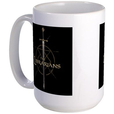 The Librarians Excalibur Large Mug