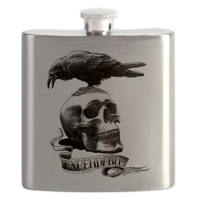 Skull Tattoo Flask