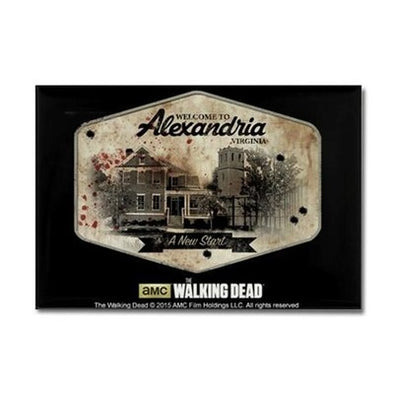TWD Alexandria Rectangle Magnet