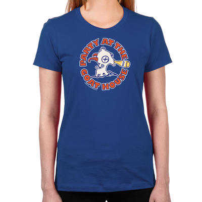 BMS Party at the Goat House Women's Fitted T-Shirt