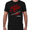 Lucille is Thirsty Fitted T-Shirt