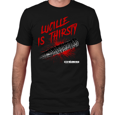 Lucille is Thirsty The Walking Dead Men T-shirt