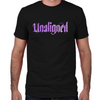 Lost Girl Unaligned Fitted T-Shirt