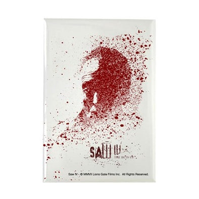 Saw Splatter Magnet