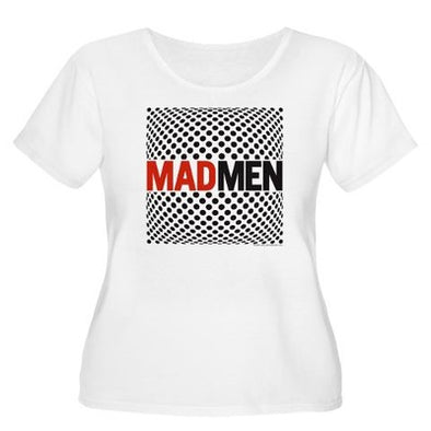 Mad Men Pop Art Women's Plus Size Scoop Neck T-Shirt