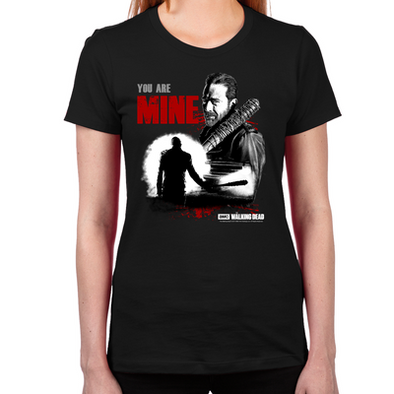 Negan You Are Mine Women's Fitted T-Shirt