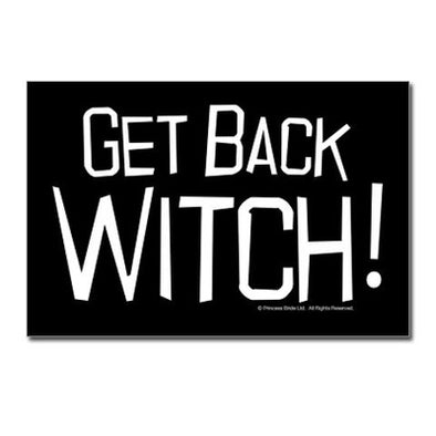 Get Back Witch Postcards (Package of 10)