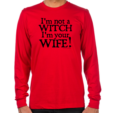 Witch Wife Long Sleeve T-Shirt