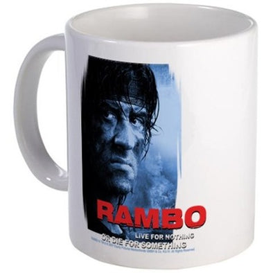 Rambo Die For Something Mug