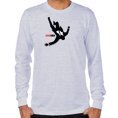 Falling Mad Men Long Sleeve T-Shirt