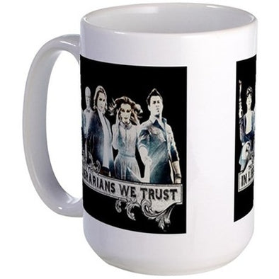 In The Librarians We Trust Large Mug
