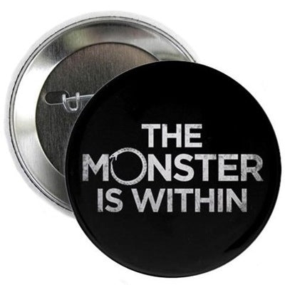 "Monster Within  2.25"" Button"
