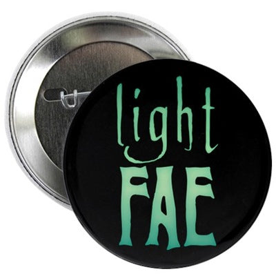 "Light Fae 2.25"" Button"