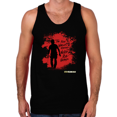 Rick Grimes World Men's Tank