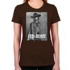 Carl Silver Portrait Women's Fitted T-Shirt