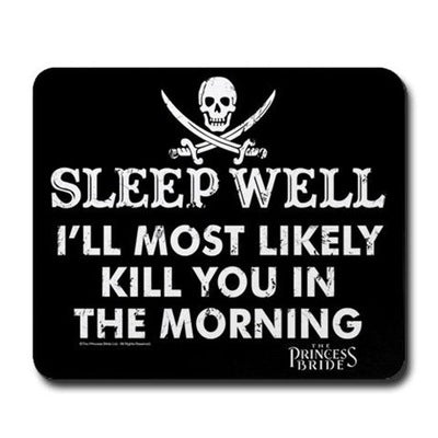 Sleep Well Mousepad