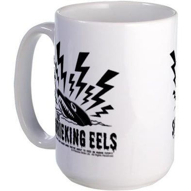 Shrieking Eels Large Mug