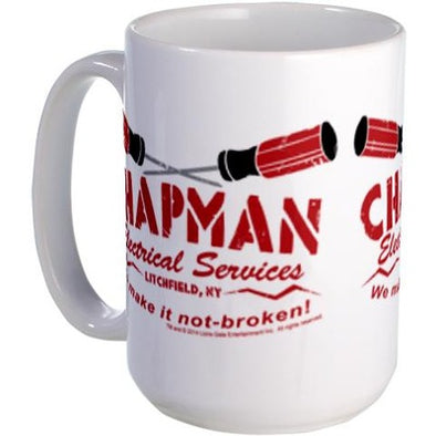 Chapman's Electrical Services Large Mug