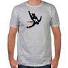 Falling Mad Men Fitted T-Shirt