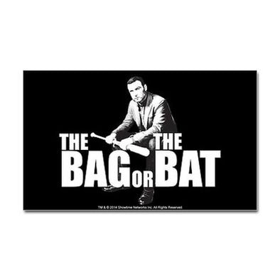 The Bag Or Bat Sticker