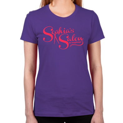 Sophia's Salon Women's Fitted T-Shirt