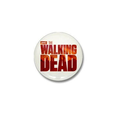The Walking Dead Blood Logo Mini Button