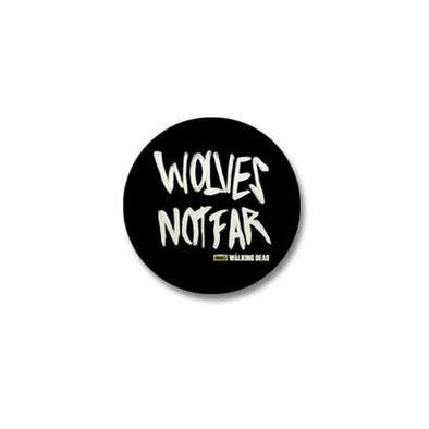 Wolves Not Far Mini Button
