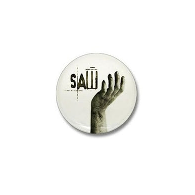 Saw Helping Hand Mini Button