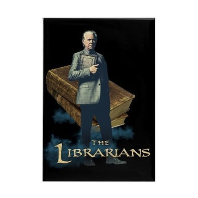 The Librarians Jenkins Rectangle Magnet