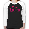 Lost Girl Team Lauren Unisex Baseball T-Shirt