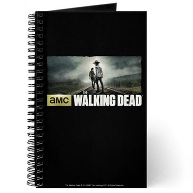 Walking Dead Carl and Rick Grimes Don't Look Back Journal