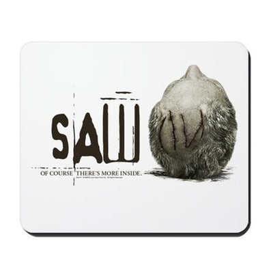 Saw More Inside Mousepad