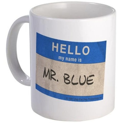 Hello Mr. Blue Mug
