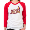 Anybody Want A Peanut? Unisex Baseball T-Shirt