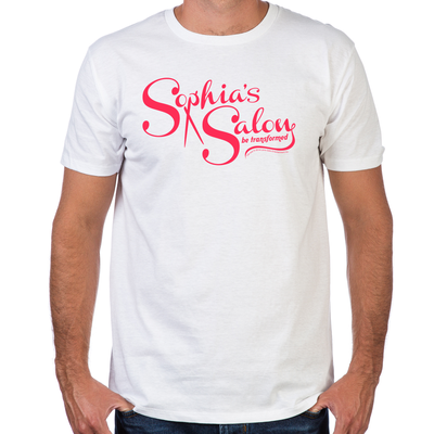 Sophia's Salon Fitted T-Shirt