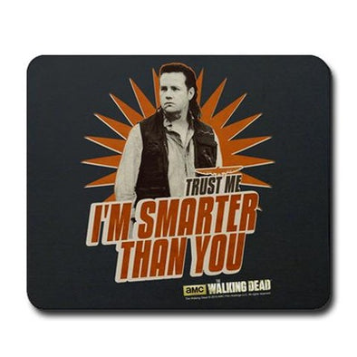 Eugene Smarter Than You Mousepad