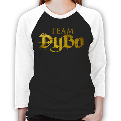 Lost Girl Team DyBo Unisex Baseball T-Shirt