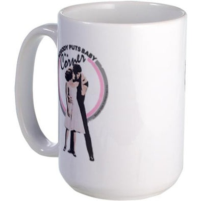 Dirty Dancing Baby in a Corner Large Mug