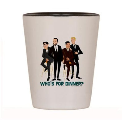 Mad Men Philanderers Shot Glass