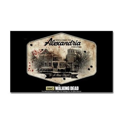 TWD Alexandria Sticker