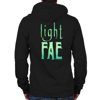 Lost Girl Light Fae Zip Hoodie