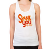 Ace Ventura Spank You Women's Racerback Tank