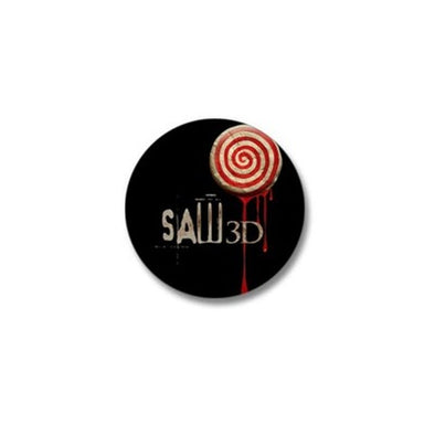 Saw 3D Mini Button