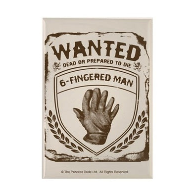 Six Fingered Man Magnet
