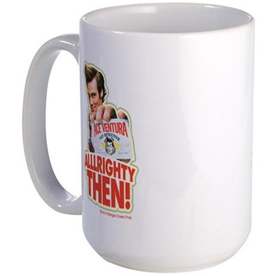 Ace Ventura Alllrighty Then Large Mug