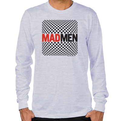 Mad Men Pop Art Long Sleeve T-Shirt
