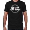 Sexy Man Beast Fitted T-Shirt