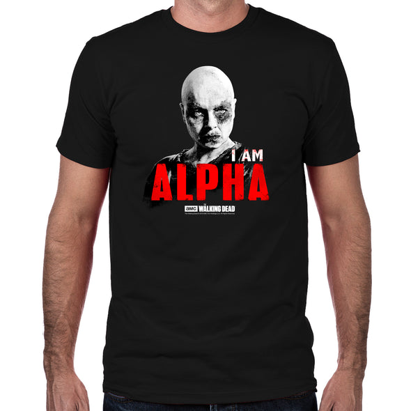 I Am Alpha Fitted T-Shirt