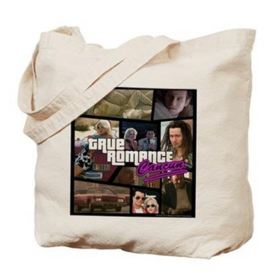 True Romance Movie Tote Bag
